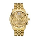 Wittnauer Wn3065 Men's Strainless Steel Gold Bracelet Band Gold Dial Watch (Wrist Gold Watch Wittnauer)
