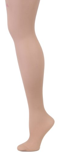 Melas Crystal Sheer Shaper Longline Shaper Pantyhose Hosiery AS-611 (Medium, Nude) Longline Shaper