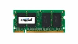 Price comparison product image CRUCIAL CT12864AC667 1GB 200-pin DDR2 667mhz SODIMM notebook memory module