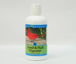 CareFree Enzymes 94727 Seed & Hull Digester Bird Feeder Cleaner, 33.9 oz.