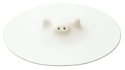 Marna Zoos Pig's Drop Lid White 21.5cm K-900 by Marna Zoos (Image #5)