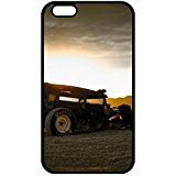 Hot iPhone 7 Case, Ultra Hybrid Hard Plastic iPhone 7 Case Cover, Amazing Hot Rod Graph Phone - Graph Rod