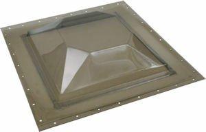Sun-Tek Mobile Home Skylight 16''x16'' 14x14 Double Pane Sapphire Dome Self Flashing