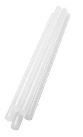Hot Melt Glue Stick, White, 1/2x10In, PK374