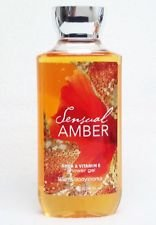 Bath & Body Works Shea & Vitamin E Shower Gel Sensual Amber 10oz