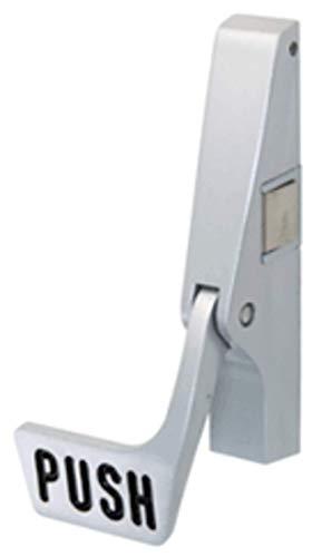 - C.R. LAURENCE 311095PRC628 CRL Satin Aluminum Jackson 10 Series Right Hand Reverse Bevel Paddle Rim Panic Exit Device