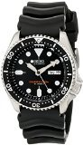 Seiko SKX007J1 Analog Japanese-Automatic  Black Rubber Diver's Watch by Seiko Watches