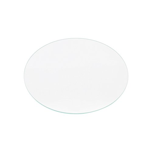 Iverntech Round Borosilicate Glass Plate for RepRap Delta Kossel 3D Printers Circular Heatbed Print Surface 200mm x 3mm