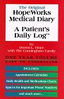 Hopeworks Medical Diary . . . A Patient's Daily Log, Donna L. Hope, 0965719502