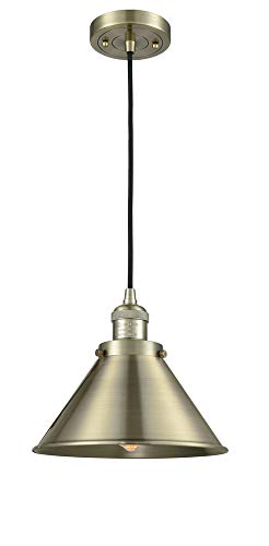 (Innovations 201C-AB-M10-AB 1 Light Mini Pendant Antique Brass)