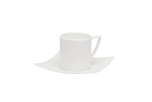 Red Vanilla Extreme Coffee Cup And Saucer, White by Red Vanilla