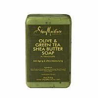 SheaMoisture Olive & Green Tea Shea Butter Soap, 8 Ounces - 2pc