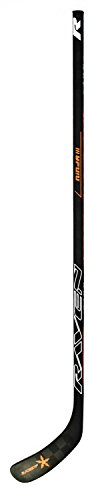 Raven Ninja III Junior Hockey Stick 30 Flex Right, Orange & Black, C19 ()