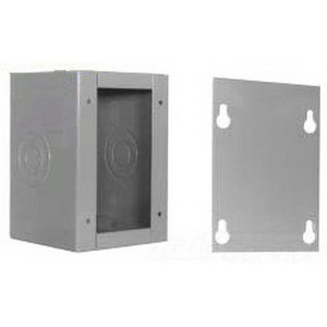 Milbank 24244-SC1 NEMA 1 Polyester Powder Coated Steel Screw Cover Junction Box 24 Inch x 24 Inch x 4 Inch ANSI 61 Gray by Milbank (Image #1)