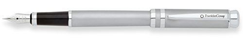 Franklin Covey Freemont Satin Chrome Fountain Pen with Me...