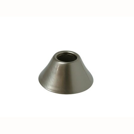 Decorative Bell Flange (Kingston Brass FLBELL128 Nuvofusion 1/2-Inch IPS Bell Flange, Satin Nickel)