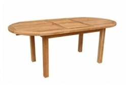 One Teak Extension Table (Bahama Collection TBX-079V 59