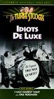 Three Stooges:Idiots Deluxe [VHS] (3 Idiots compare prices)