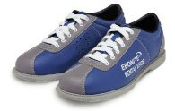 Mens All Leather Classic Rental (11 D(M) US) Blue/Silver