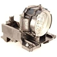 Replacement Lamp Module for Hitachi CP-X505 CP-X600 CP-X605 CP-X608 Projectors (Includes Lamp and Housing)
