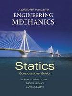 A MATLAB Manual for Engineering Mechanics: Statics - Computational Edition