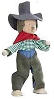 product image for Magic Cabin Kathe Kruse Wee Wild Westerner Dollhouse Doll, in Cowboy