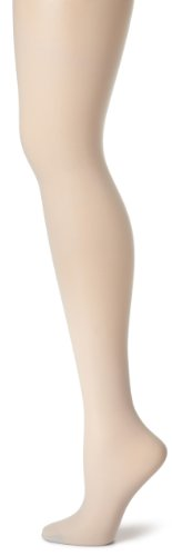 Mist Nylon Pantyhose (Hanes Women's Non Control Top Sandalfoot Silk Reflections Panty Hose, Grey Mist, E/F)