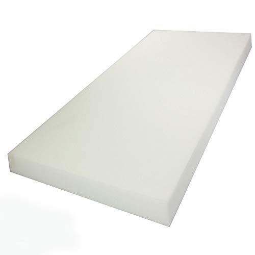 "Mybecca Upholstery Foam Cushion (Seat Replacement, Upholstery Sheet, Foam Padding), 1"" H x 24"" W x 72"" L"
