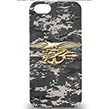 U.S.Navy Logo IPhone 5 5S 5SE SE Case Cover,Popula Army Camo Printed U.S.Navy Seals Logo Phone Case 3D Advanced Design Cover Shell for IPhone 5 5S 5SE SE (Seals Iphone 5s Case compare prices)
