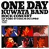 """ONE DAY KUWATA BAND~ROCK CONCERT(AT TOHO STUDIO,19th Oct.1986)"" [DVD]"