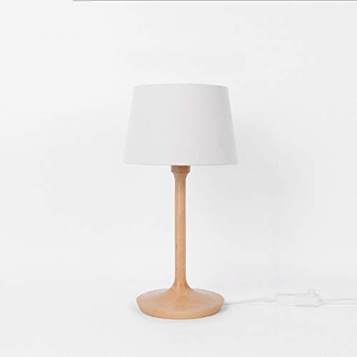 - Modern Minimalist Creative Wooden Table Lamp Vintage Small Table Lamp Bedroom Headboard Warm Light Wood Table Lamp, BOSS LV