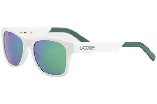 Lacoste L829s Rectangular Sunglasses WHITE 54 mm