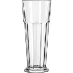 Libbey Gibraltar Footed Pilsner Glasses LIB 15429 by Libbey