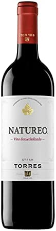 Natureo Vino Sin Alcohol - 6 Botellas - Vino Tinto - Vino Desalcoholizado -Seleccionado y enviado por Cosecha Privada