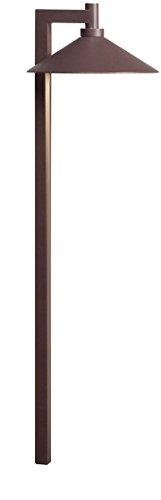 Kichler 15800AZT30R Landscape Path, 1 Light LED 4.3 Watts, Textured Architectural Bronze