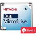 Hitachi 3 GB Microdrive ( MD3GBBP )