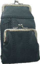 Leather Cigarette Zipper pocket Ligter