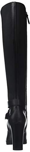 Noir Femme Bottes F C9999 High Geox Annya black D Hautes wnSqIxY04