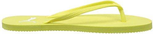 Puma 360255, Chanclas Mujer Amarillo (Soft Fluo Yellow-Puma White 08)