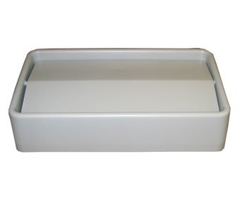 Impact Products 7024-3 Gray Thin Bin Trash Container Lid by Impact Products