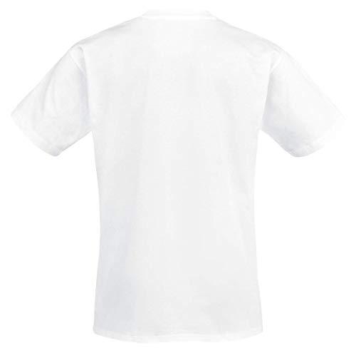 Street High para School Springwood blanco Elm hombres oficial Nightmare On Camisa nuevo tUqpXx