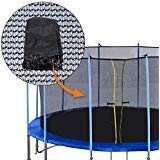Exacme 6181-EN16C Replacement Netting Inner Trampoline Safety Net Without Poles