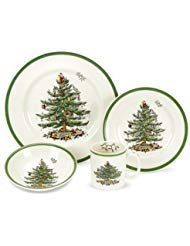 Spode Christmas Tree 4-Piece Dinnerware Place Setting, Service for 1 by Spode