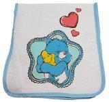 Blue Care Bears Baby Star Hugs Burp Cloth
