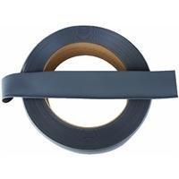 HC40C53P150 Dryback Vinyl Wall Cove Base Roll, Dark Gray