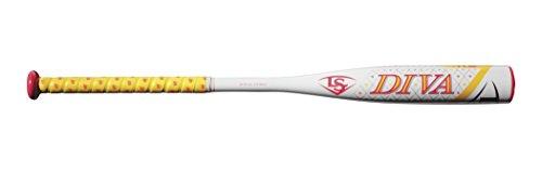 Louisville Slugger 2018 Diva -11.5 Fast Pitch Bat, 28'/16.5 oz