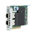 HP 701525-001 IntelX54 Adapter LAN on Motherboard (ALOM) - Dual-Port (DP), PCI Express 2.1 and 5.0, GT/s Lane x 8, Low-Profile (LP)