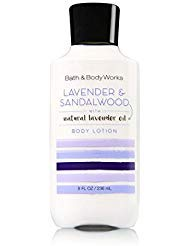 Bath and Body Works Lavender and Sandalwood Body Lotion 8 Ounce Full Size Moisturizing Lotion - Moisturizing Lotion Body Magnolia