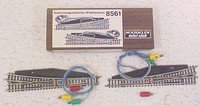 Marklin 8561 Pair of Electromatic Track Switches Z Scale