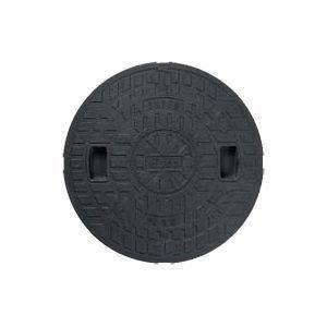 丸マス蓋 ブラック 樹脂製 600型 JM600C-2(ロックなし) 城東テクノ B0083YUTLK 10430
